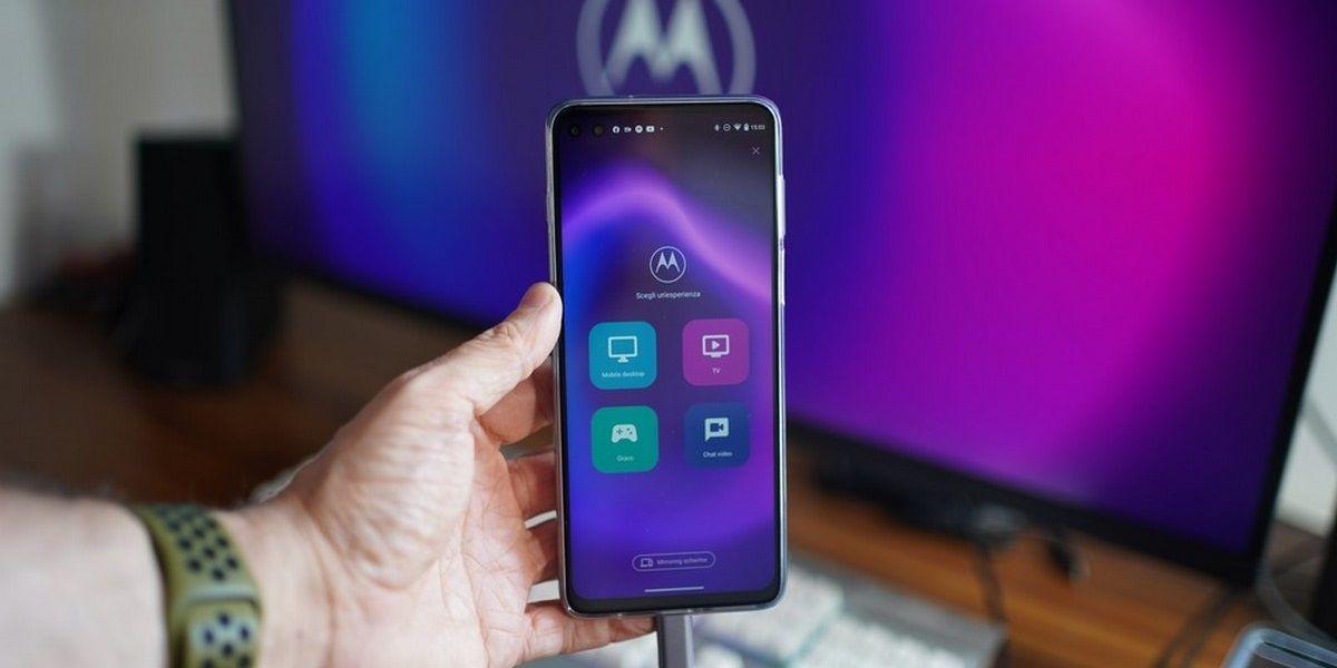 modo escritorio de móviles Motorola
