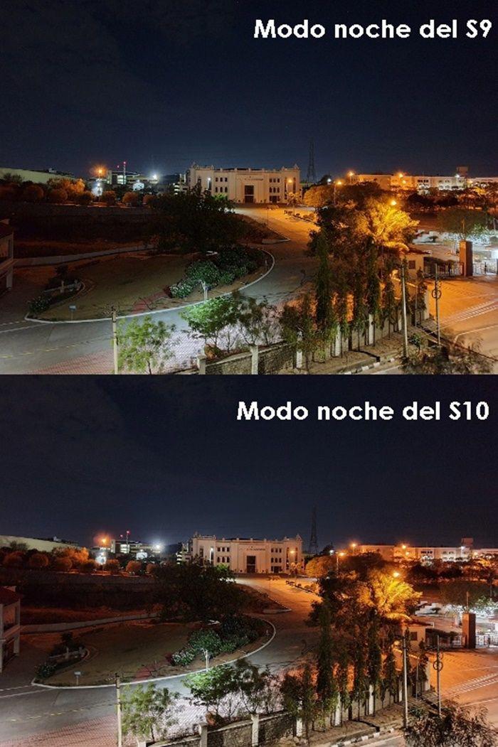 modo noche s9 vs s10