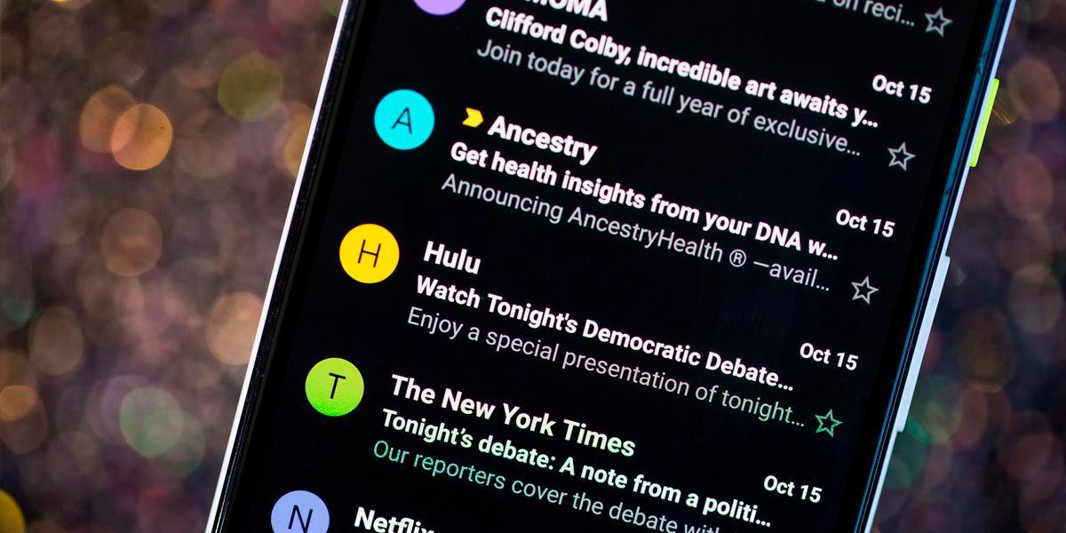 modo oscuro gmail versiones antiguas android xposed