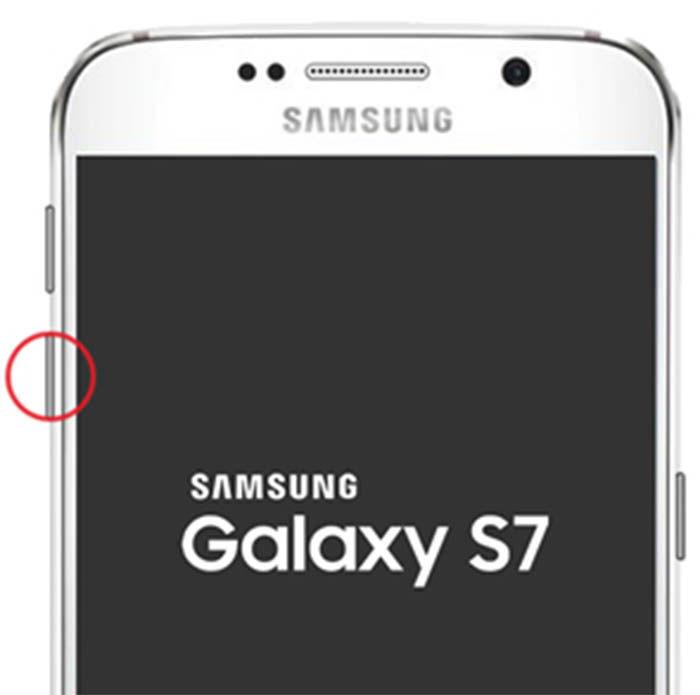modo seguro del Galaxy S7
