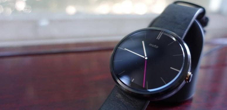 Moto 360 es el smartwatch que mejor aprovecha los bordes