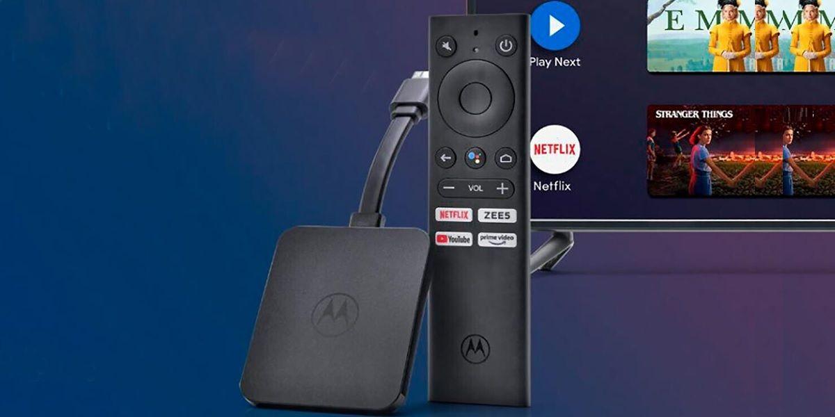 motorola android tv stick 4k caracteristicas