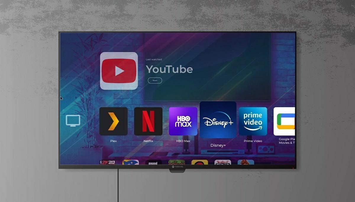 motorola modo smart tv
