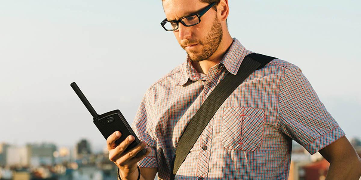movil android con comunicacion satelital