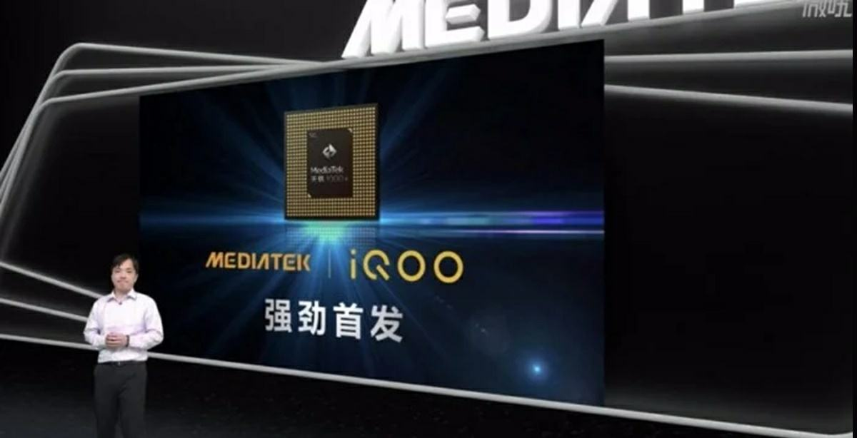movil iqoo con chip mediatek dimensity 1000 plus