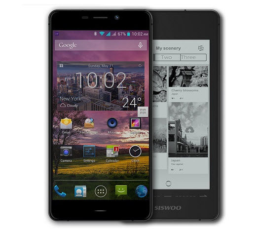 movil pantalla tinta electronica siswoo r9 darkmoon1