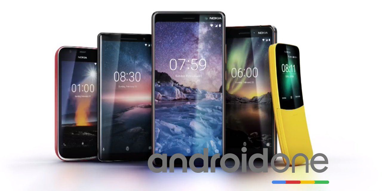 moviles nokia android one