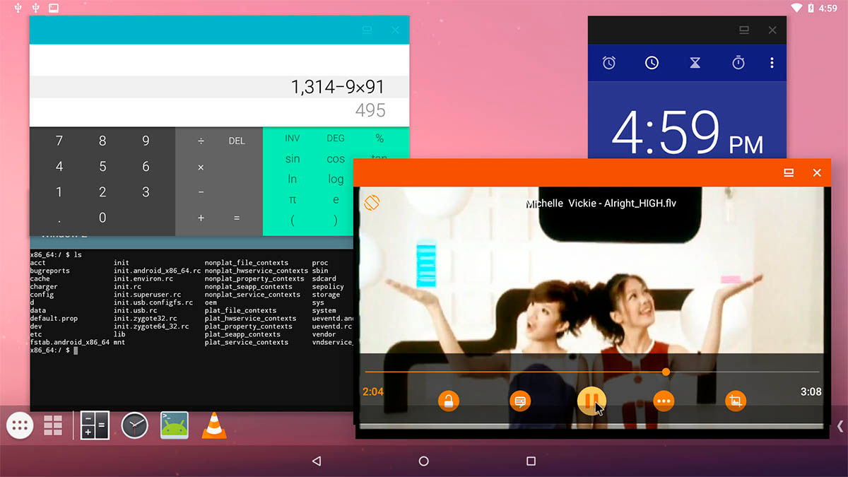 multiventana en Android-x86 9