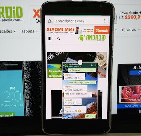 multiventana en nexus 6 sin android m