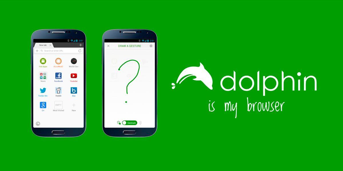 navegador Dolphin android