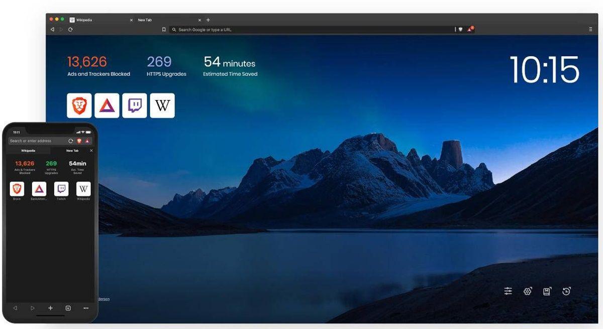 navegador brave en pc y movil