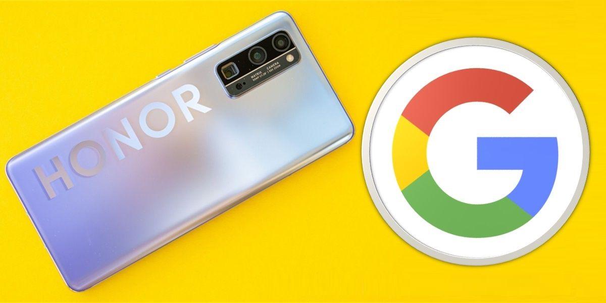 negociaciones honor google