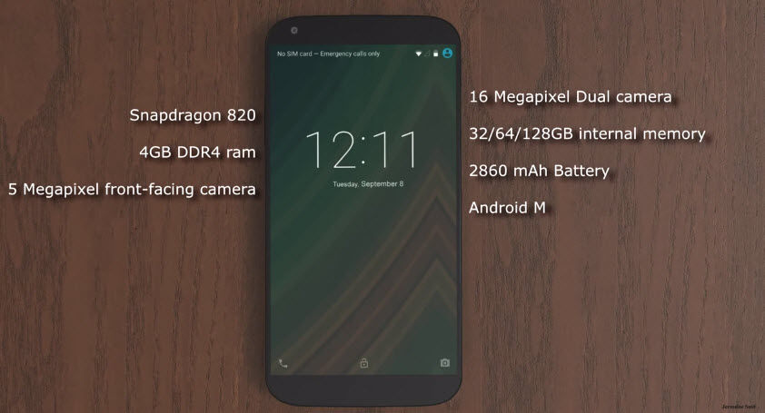 nexus 5 2015 diseño en video1