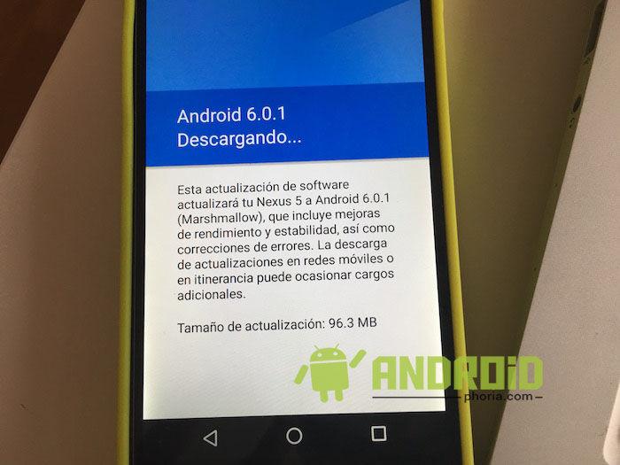 nexus 5 android 6 0 1