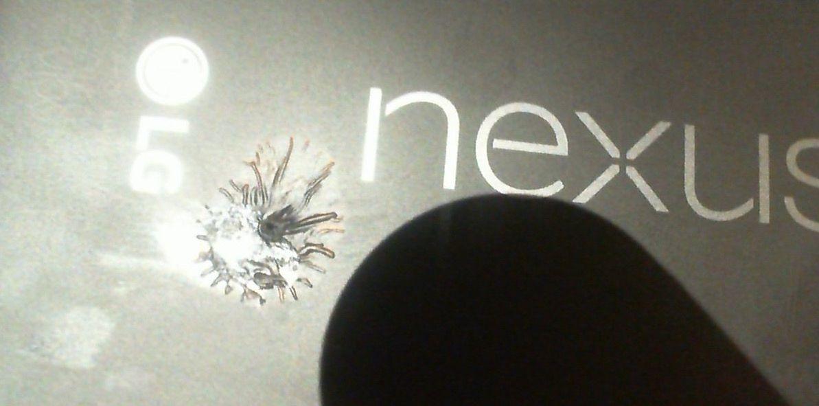 nexus 5x en llamas
