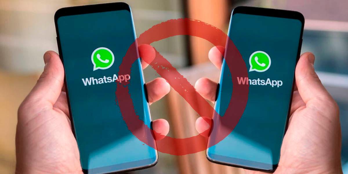 no podrás usar whatsapp dos móviles