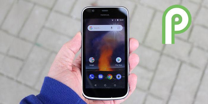 nokia 1 android pie actualizacion