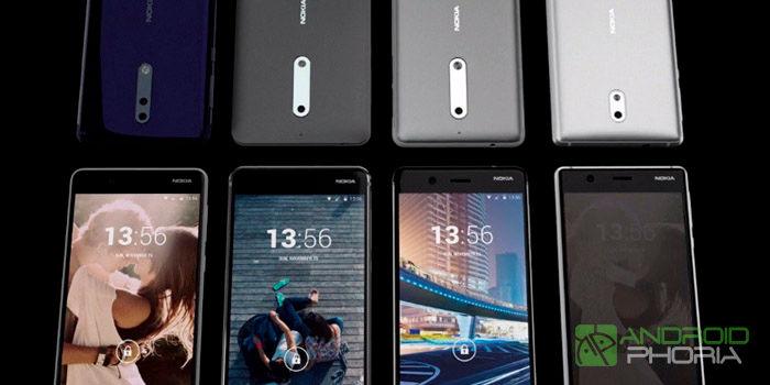 Nokia 2 Nokia 7 Nokia 9 lanzamiento 2018 filtración