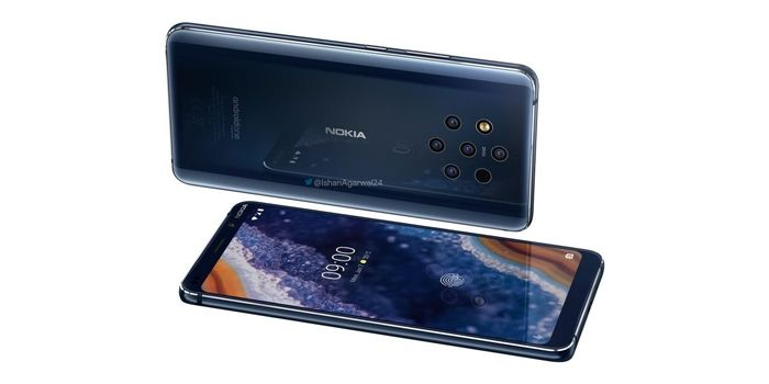 nokia 9 pureview diseño atractivo