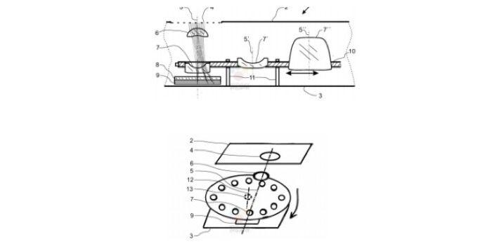 nokia y zeiss sensores patente