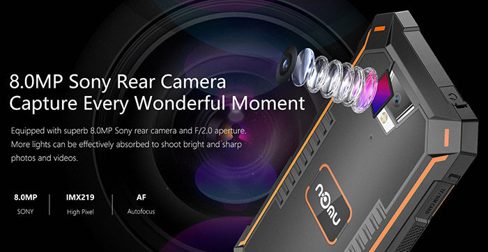 NOMU S10 Pro cámara
