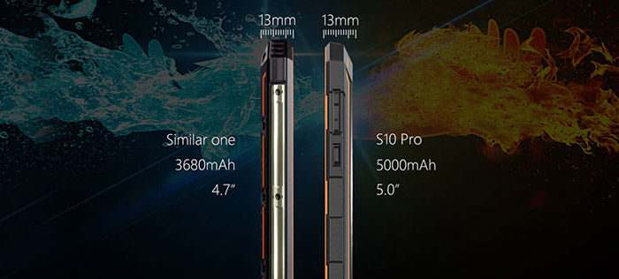 NOMU S10 Pro el rugerizado más fino con gran batería