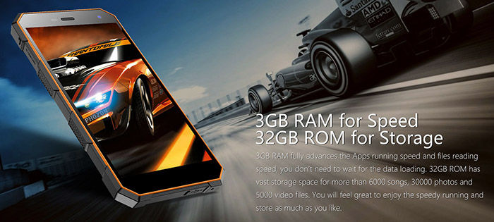 NOMU S10 Pro RAM ROM