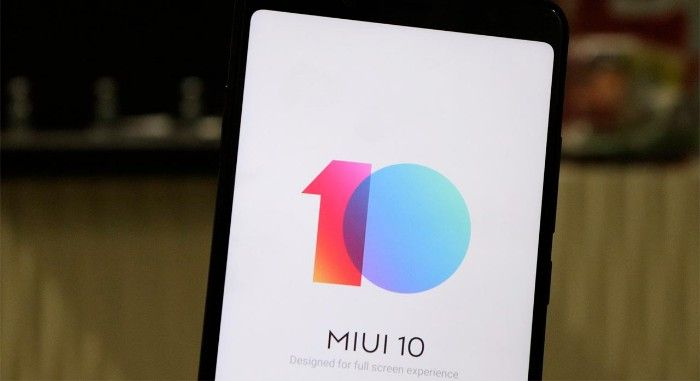 notch miui 10 android q