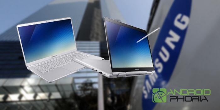 notebook 9 2018 pen nuevos portatiles samsung