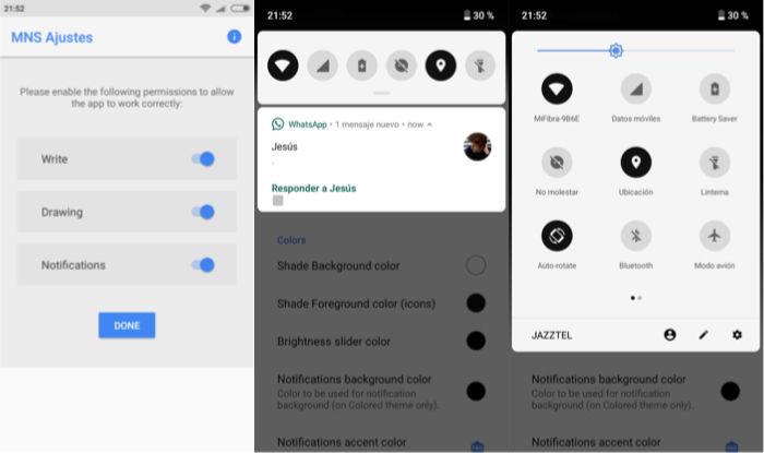 notificaciones android stock miui