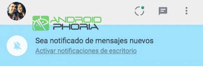notificaciones whatsapp web