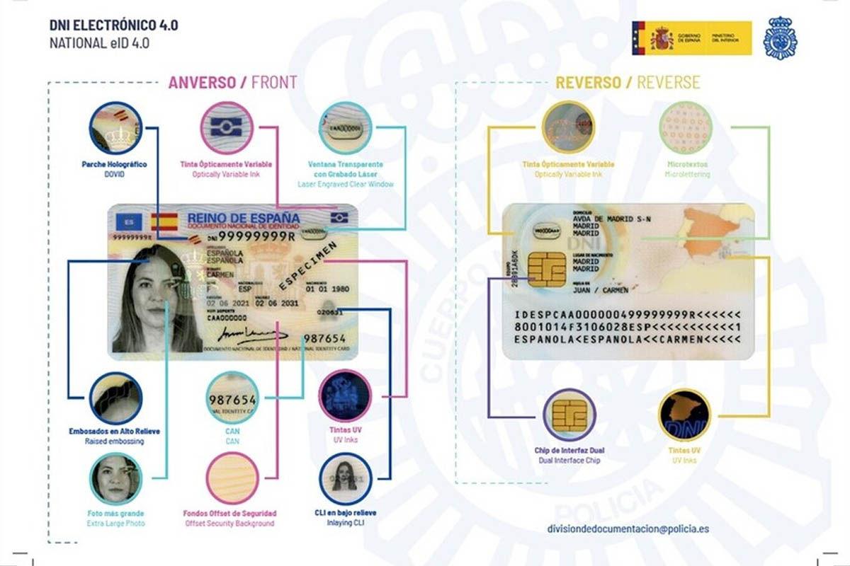 novedades documento nacional identidad 4.0 españa