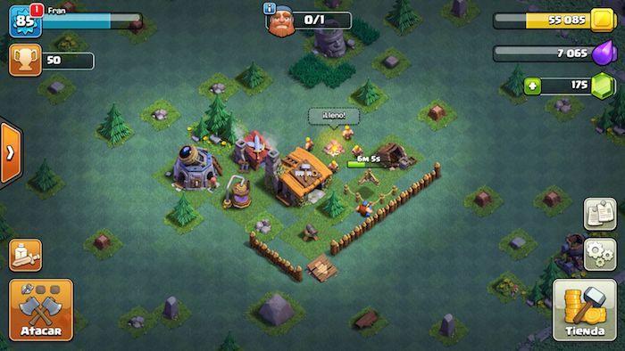 nueva aldea barco clash of clans