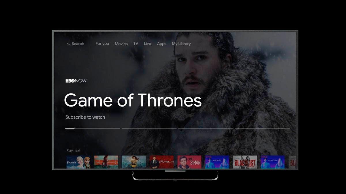 nueva interfaz Android TV sabrina