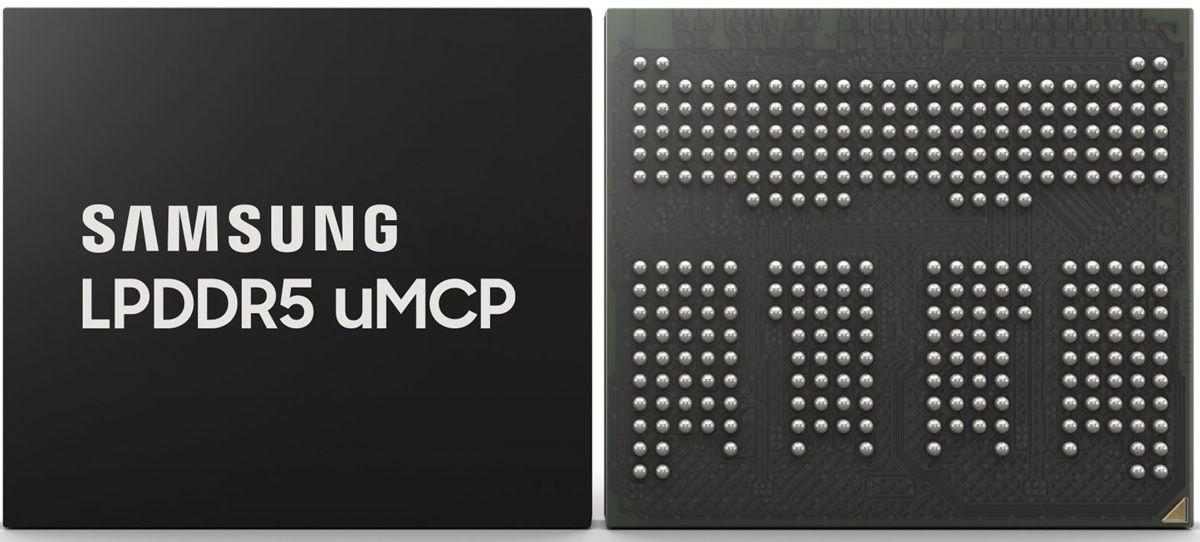 nueva memoria uMCP de Samsung