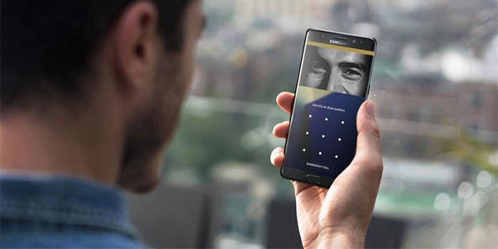 nueva tecnologia de escaner de iris de samsung