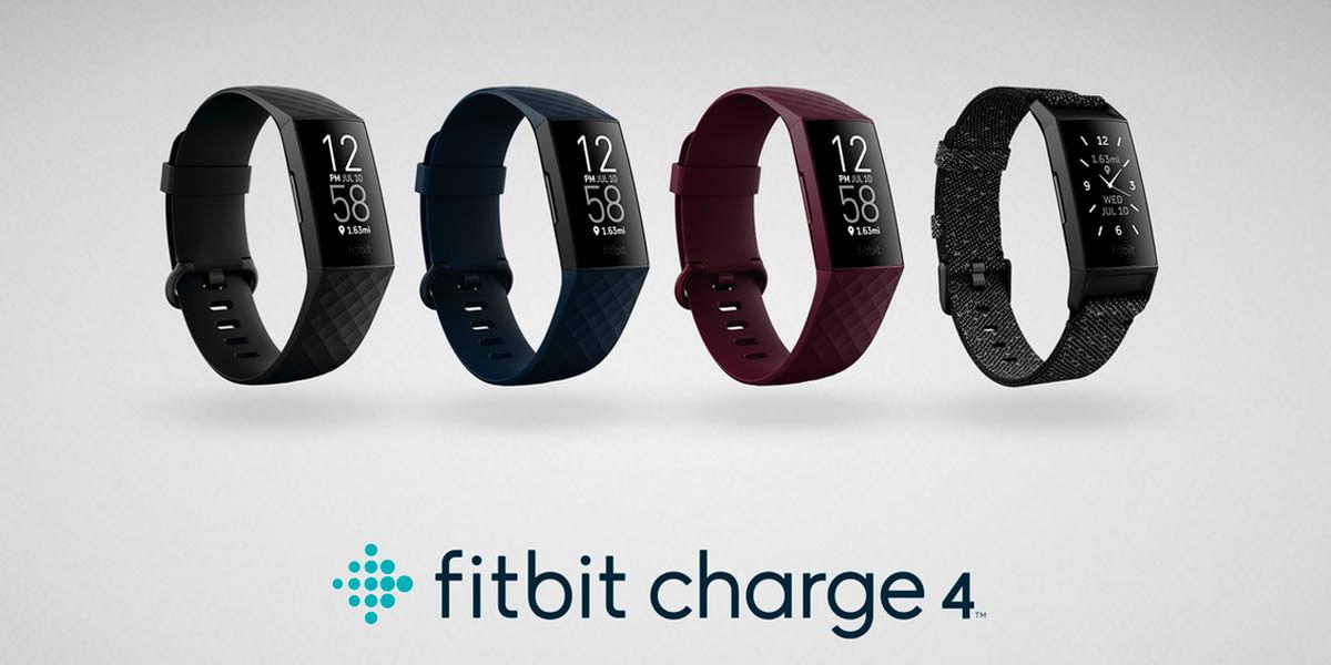 nuevas fitbit charge 4 pulseras inteligentes