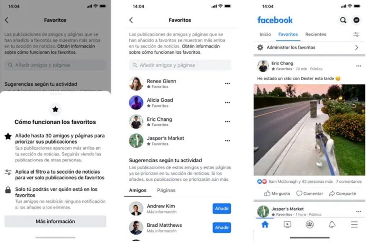 nuevas opciones para ordenar publicaciones facebook