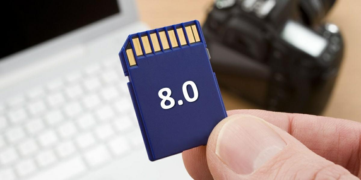 nuevas tarjetas SD 8.0 son mas rapidas que la memoria de los moviles