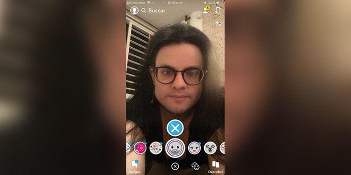 nuevo Filtro de snapchat cambio de sexo