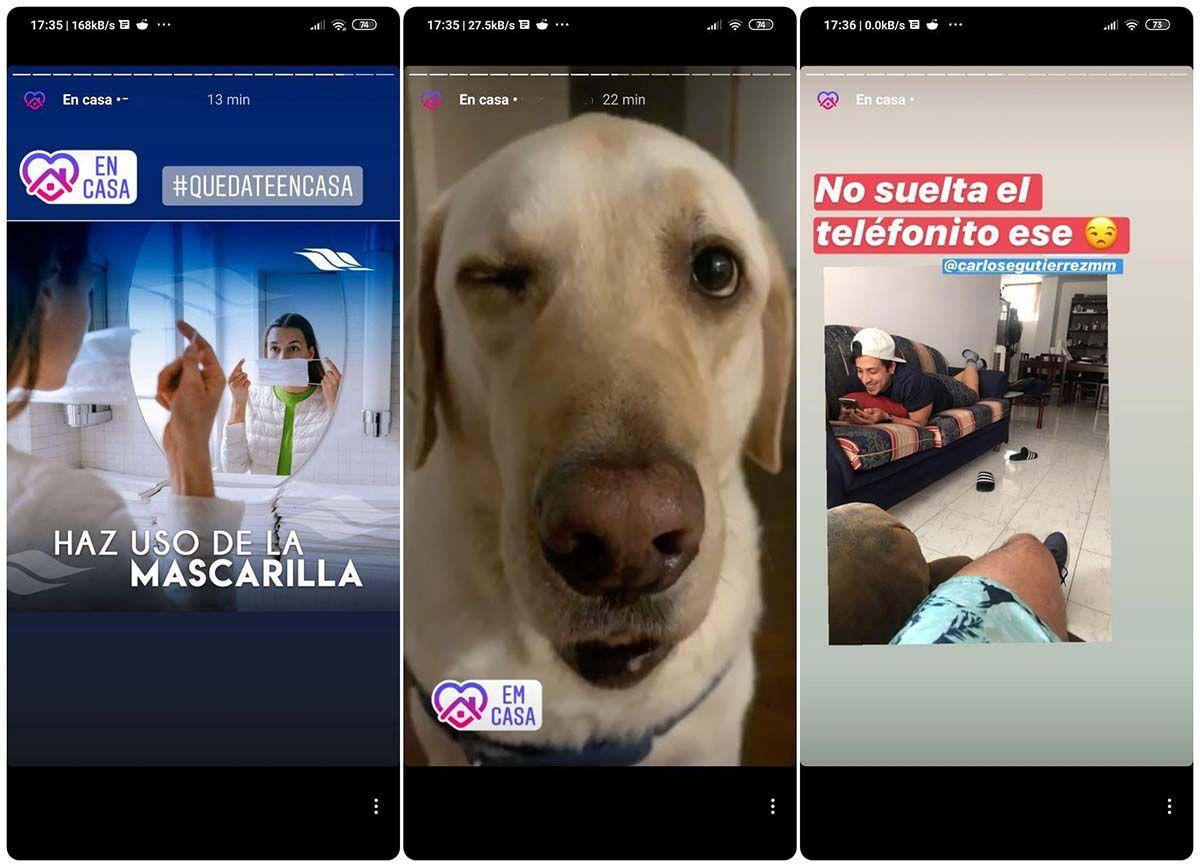 nuevo sticker de instagram quedate en casa covid-19 como usarlo