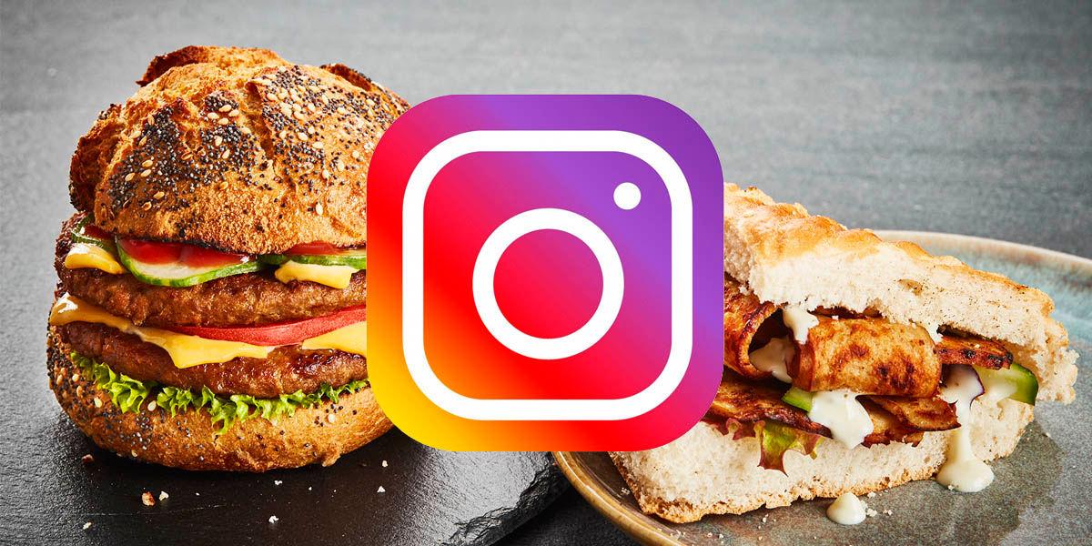 nuevo sticker instagram pedir comida