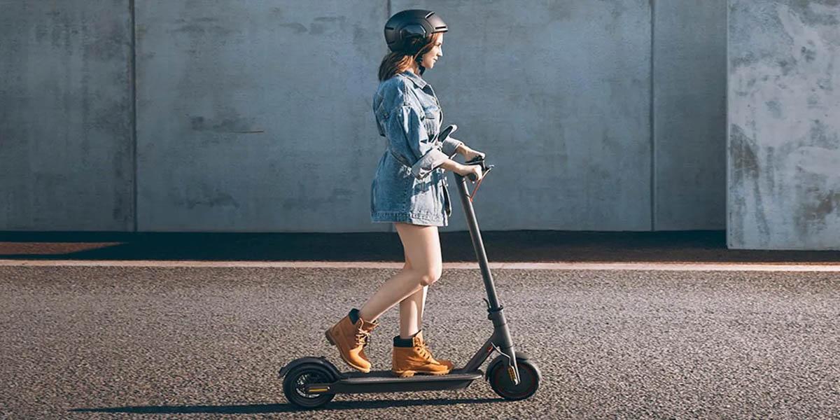 nuevo xiaomi mi scooter essential lite con autodiagnostico de fallas