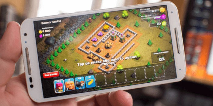 nuevos desafios Clash of clans Android