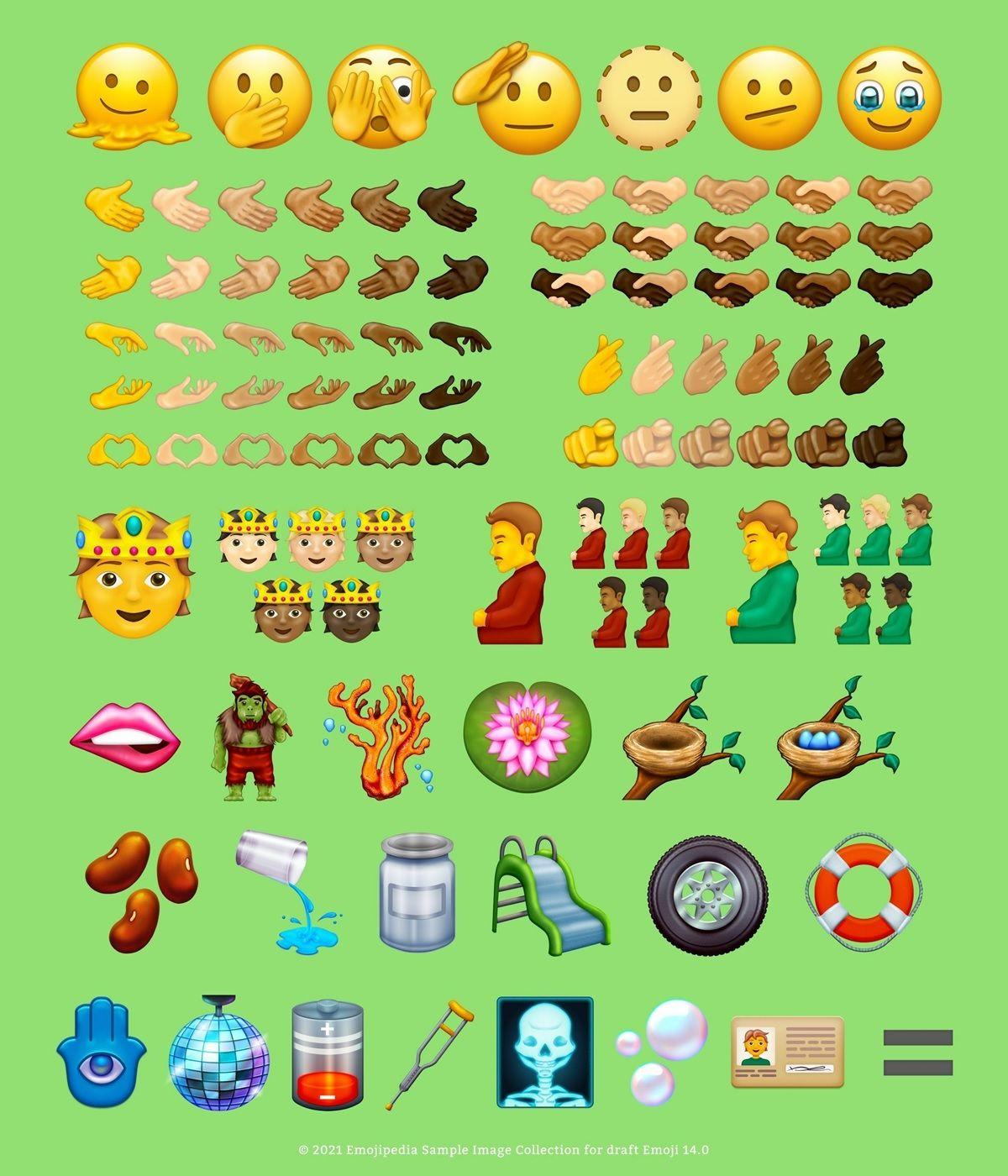 nuevos emojis para 2021