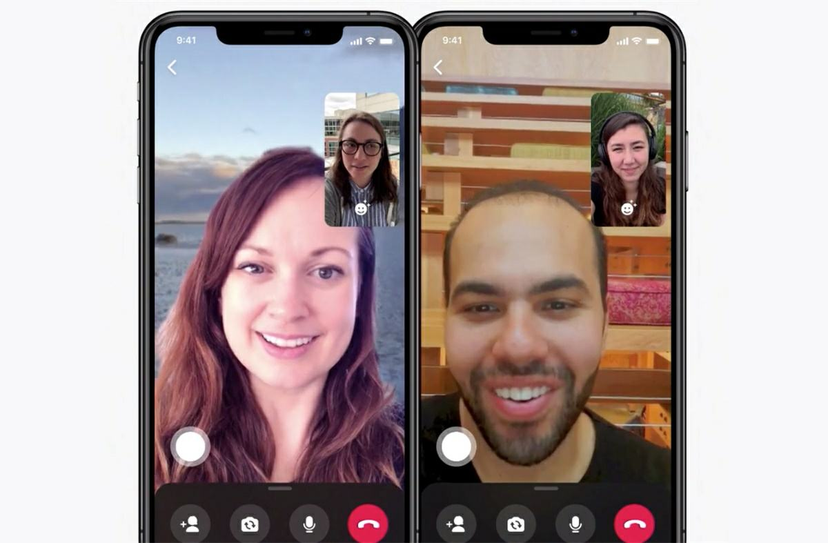 nuevos fondos para las videollamadas de messenger