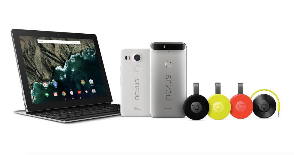 nuevos productos de google