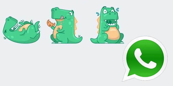 nuevos stickers de reacciones en WhatsApp