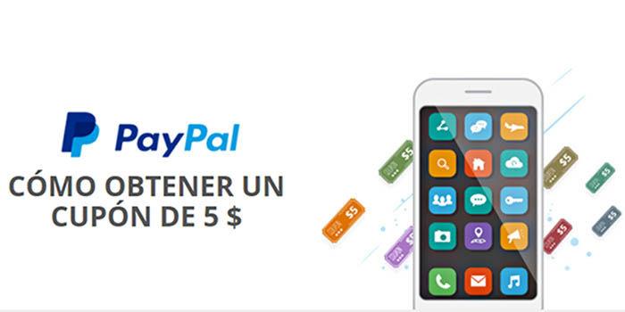 obtener un cupon de 5 euros de PayPal en AliExpress