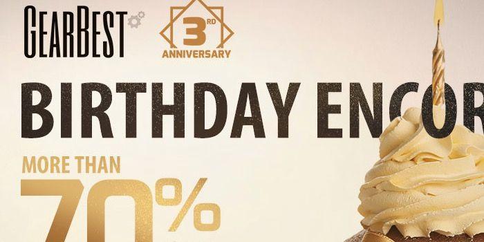 ofertas aniversario de GearBest